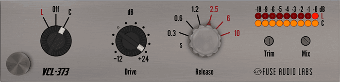 Fuse Audio Labs VCL-373 GUI
