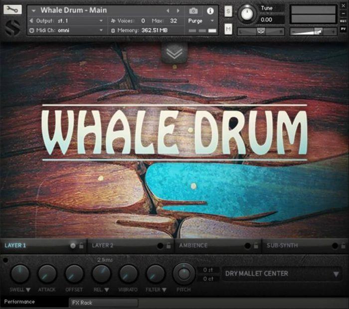 Soundiron Whale Drum 2