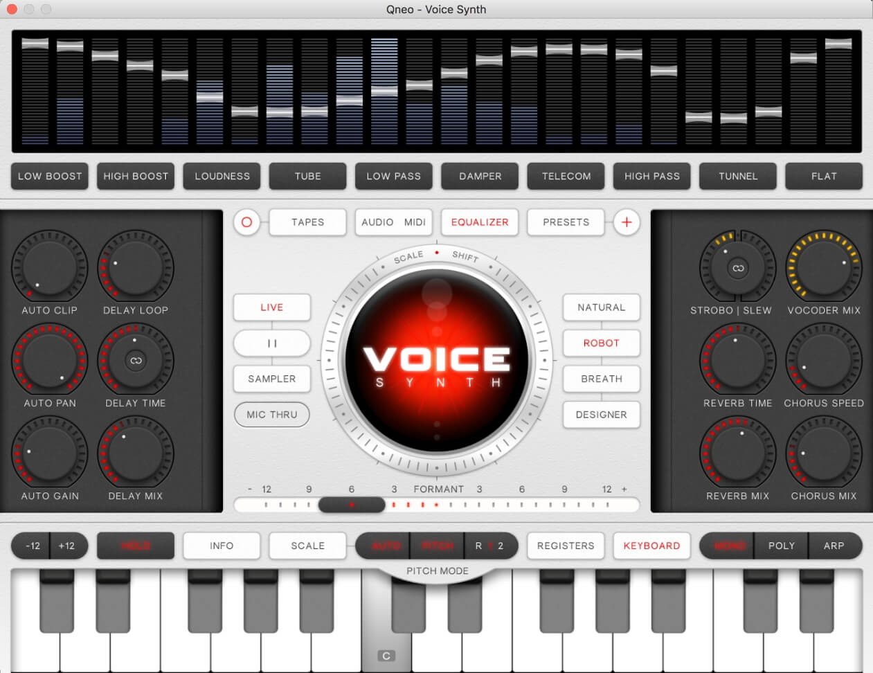 Qneo releases Voice Synth vocoder for Mac