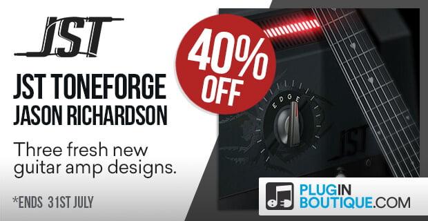 JST Toneforge Jason Richardson guitar 40% off