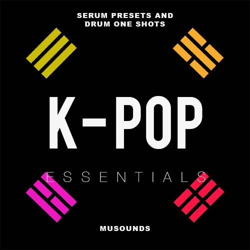 MUSounds K-Pop Essentials sample pack incl  Serum presets