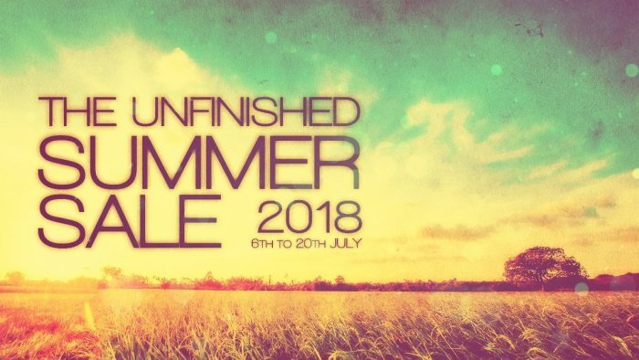 The Unfinished Summer Sale 2018