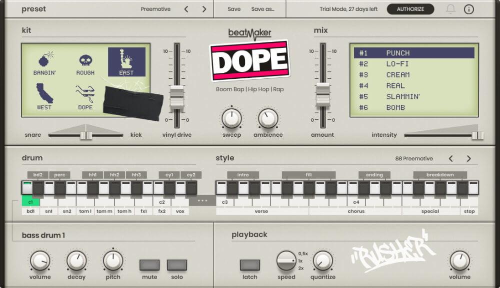 UJAM Beatmaker Dope, Eden & Hustle launch at 30% OFF