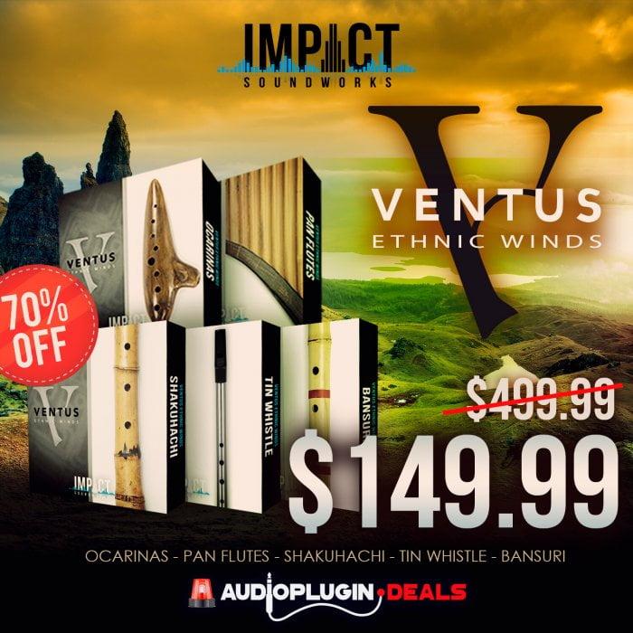 Audio Plugin Deals ISW Ventus Bundle