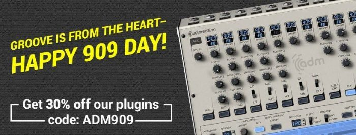 AudioRealism 909 Day Sale