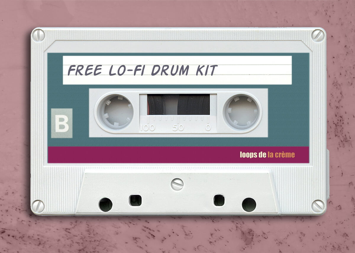 Loops de la Crème releases free LoFi Drum Kit sample pack