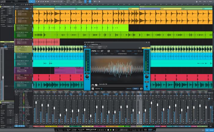 PreSonus Studio One 4.1 with Pipeline Mono