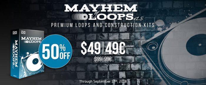 UVI Mayhem of Loops 50 OFF