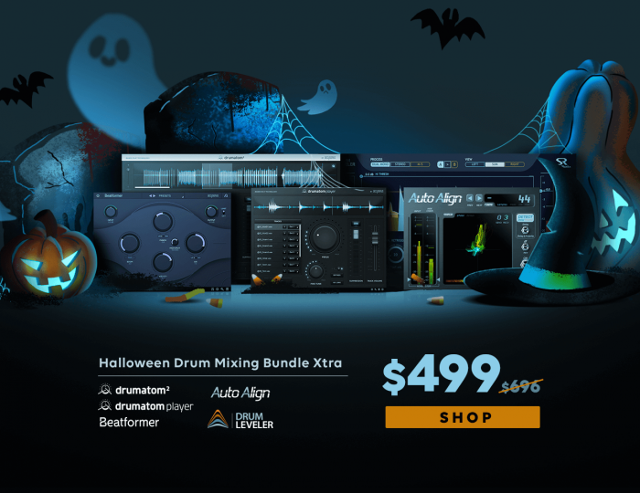Accusonus Halloween Drum Mixing Bundle Xtra
