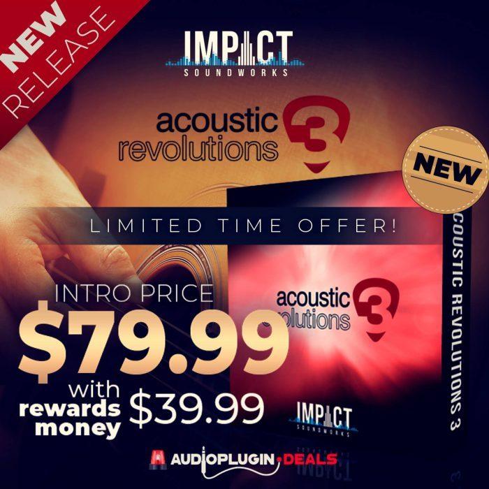 Audio Plugin Deals Acoustic Revolutions 3