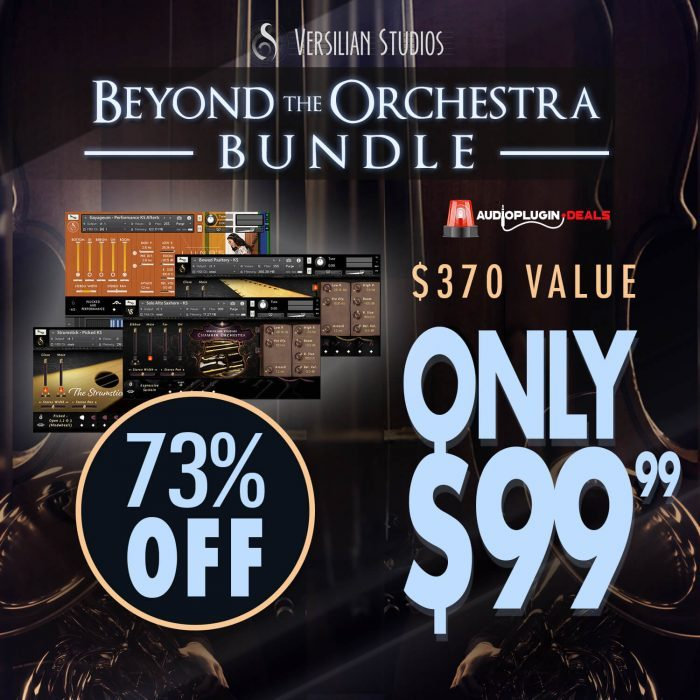 Save 73% off Beyond the Orchestra Bundle by Versilian Studios