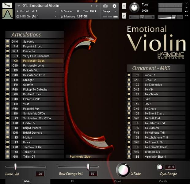 Best Service Emotional Violin for Kontakt