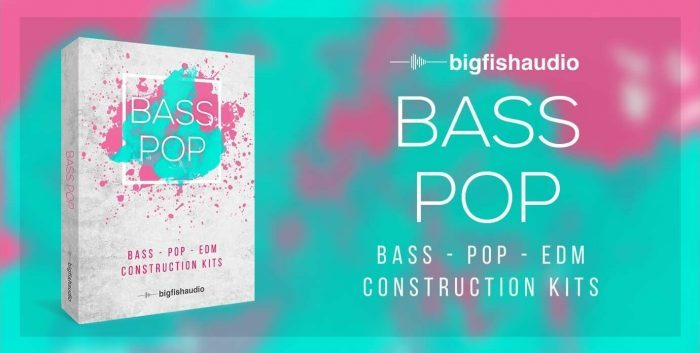 Big Fish Audio releases Bass Pop sample library