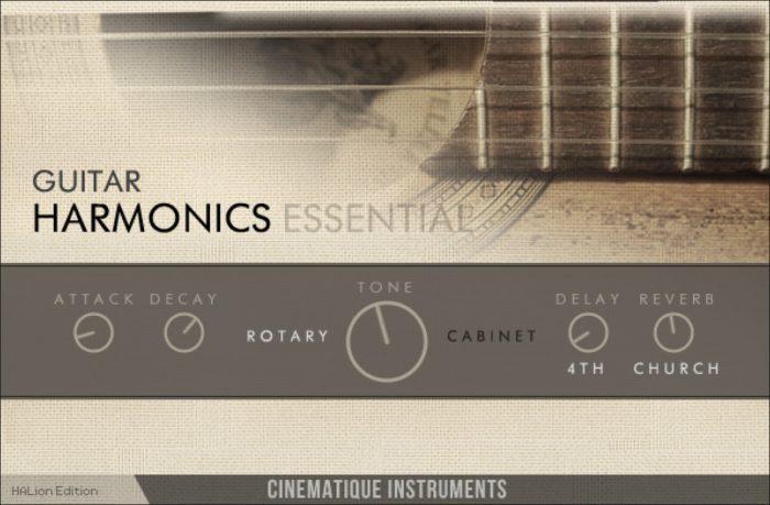 CI Guitar Harmonics
