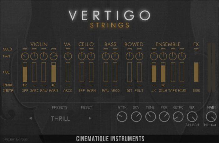 CI Vertigo Strings