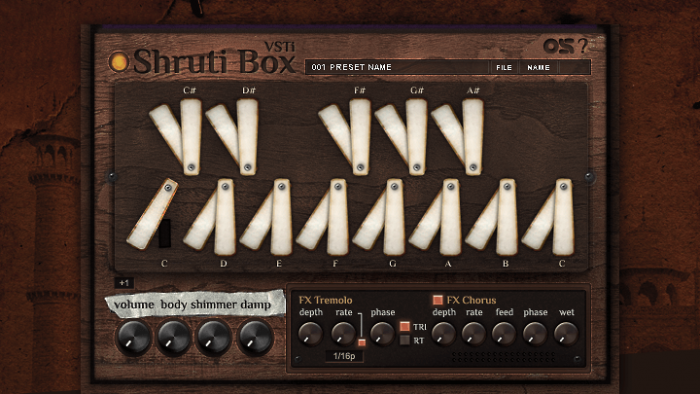 Ocean Swift Shruti Box