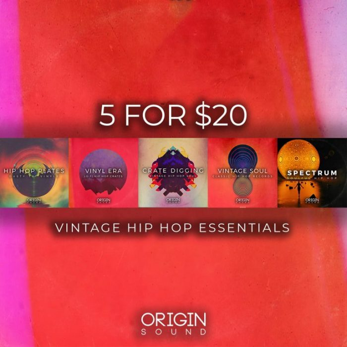Origin Sound Vintage Hip Hop Essentials Bundle