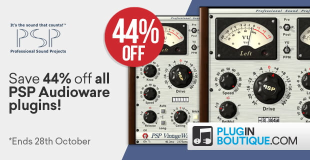 Flash Sale: Save 44% off PSP Audioware audio effect plugins