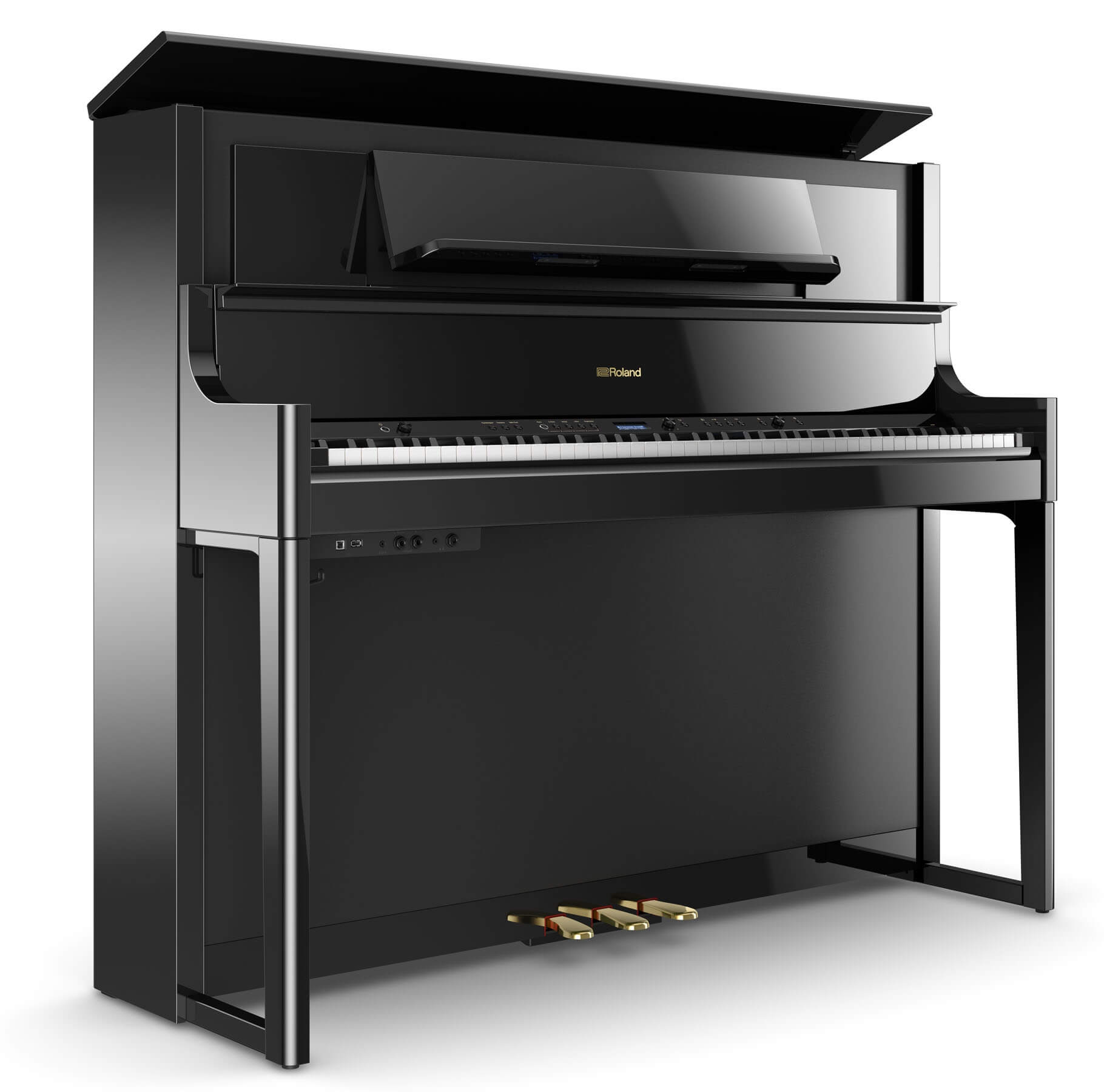 roland introduces lx700 digital piano series piano every day app. Black Bedroom Furniture Sets. Home Design Ideas