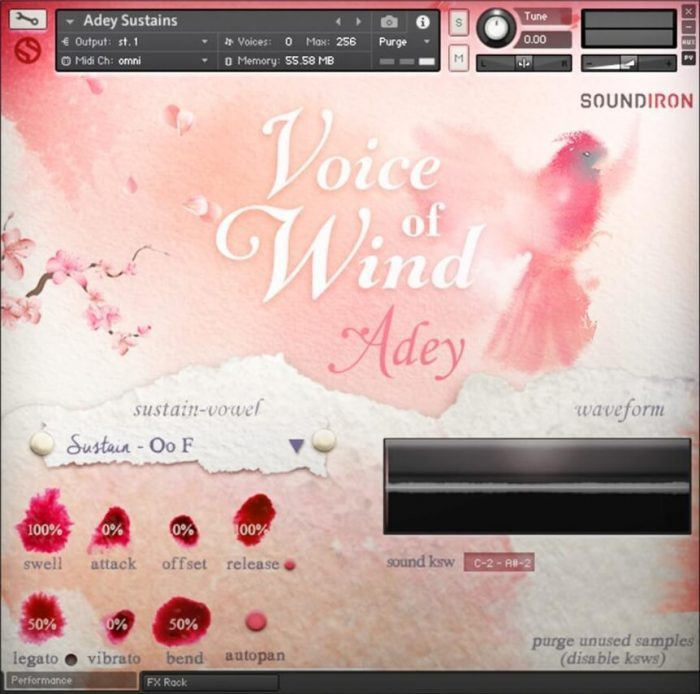 Soundiron Voice Of Wind Adey Screenshot