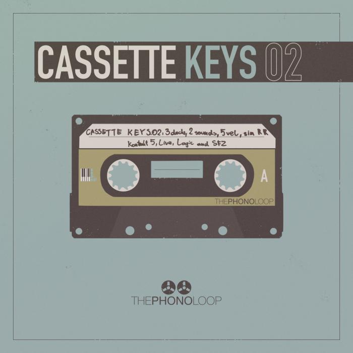 THEPHONOLOOP Cassette Keys.02