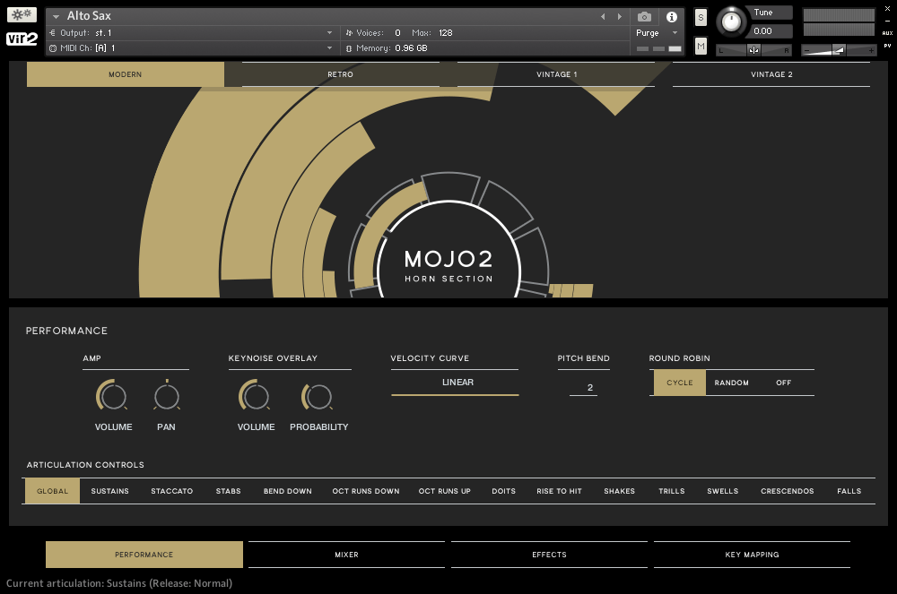 Vir2 Instruments intros MOJO 2: Horn Section for Kontakt
