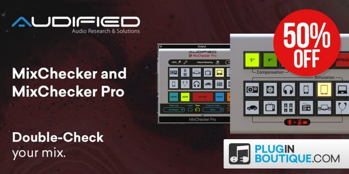 Audified Mixchecker Black Friday