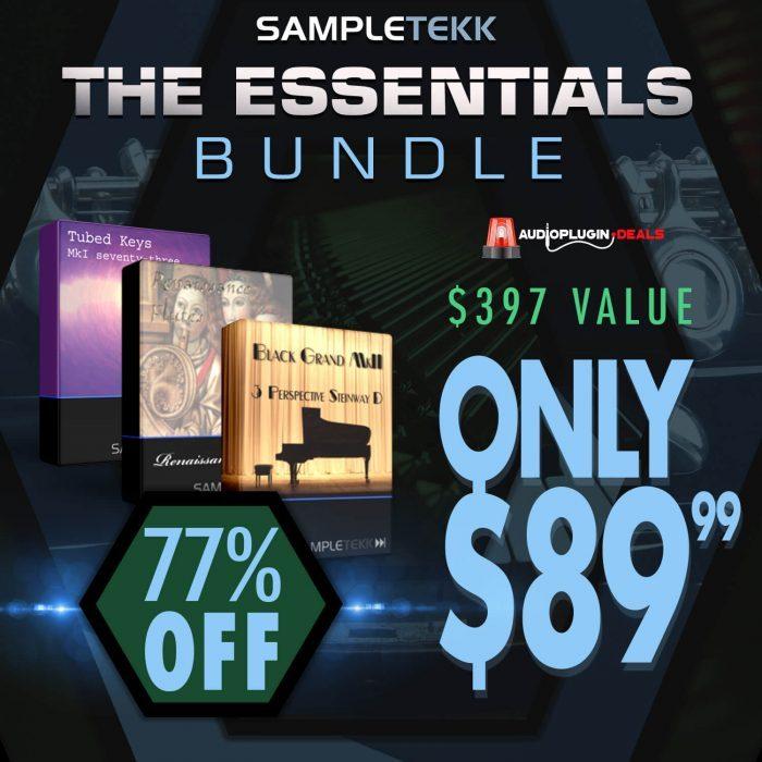 Audio Plugin Deals Sampletekk Essentials