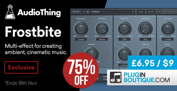 AudioThing Frostbite 75% OFF
