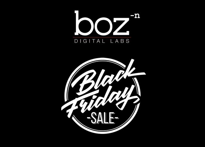 Boz Digital Labs Black Friday Sale