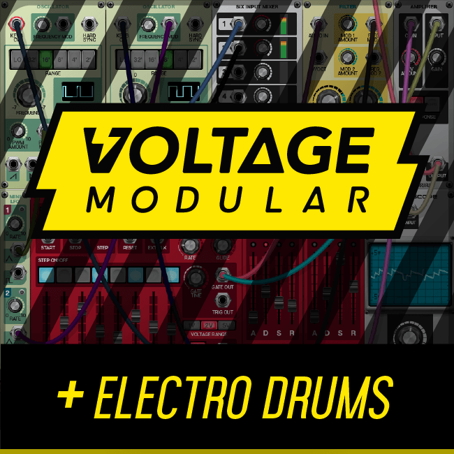 Cherry Audio Voltage Modular Electro Drums