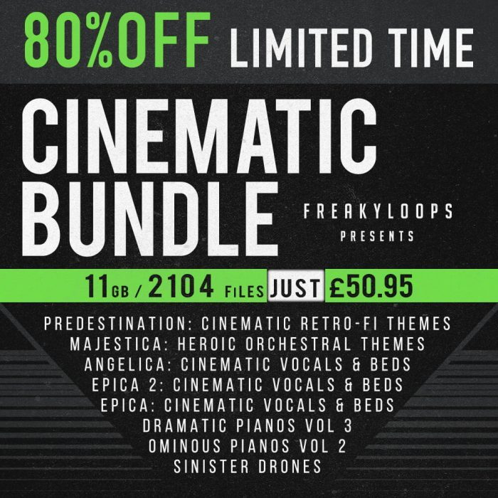 Freaky Loops Cinematic Bundle