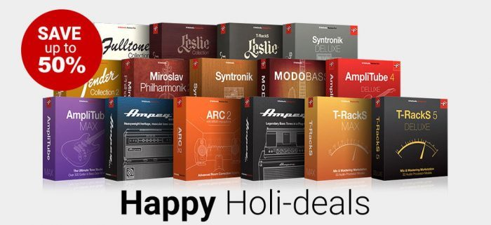 IK Multimedia Happy Holideals 2018