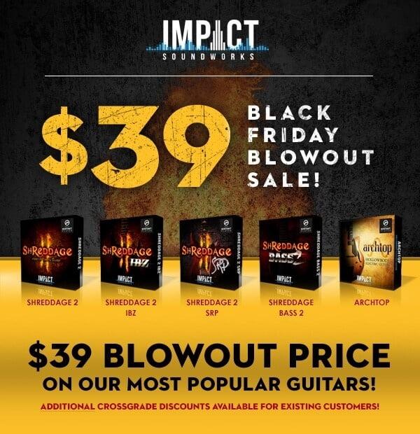 Impact Soundworks Black Friday Sale 2018