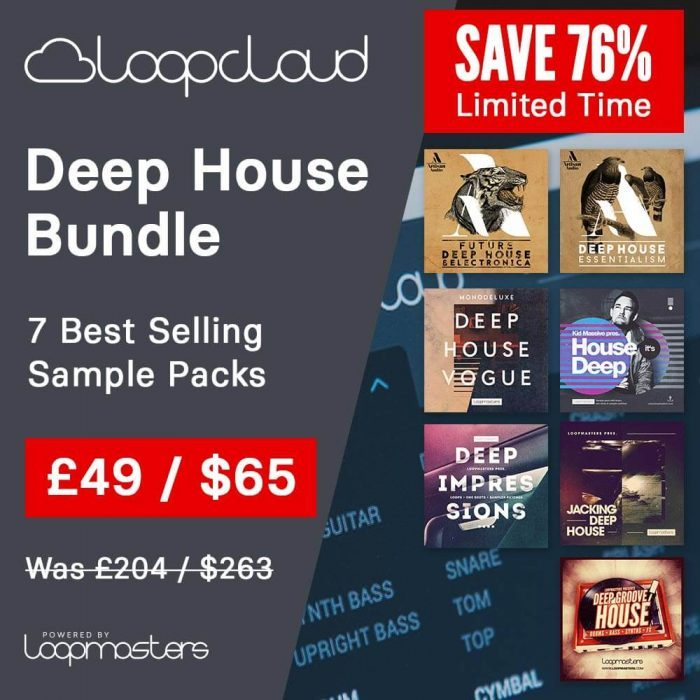 Loopcloud Deep House Bundle