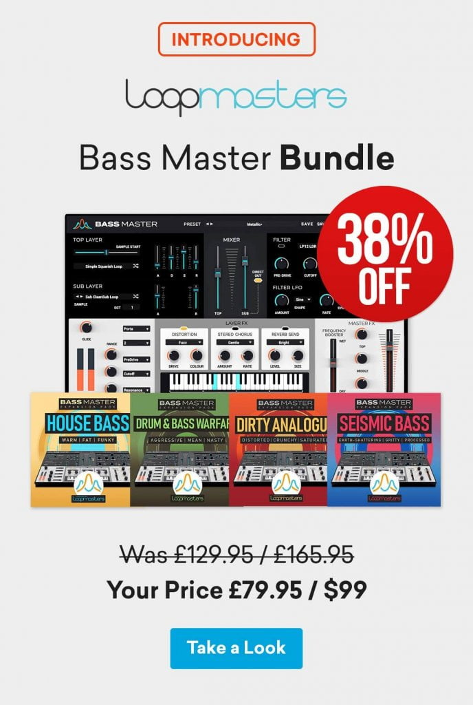 Loopmasters Bass Master Bundle