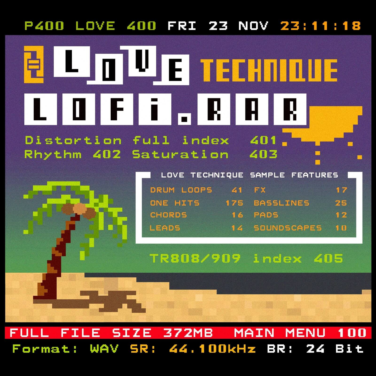 Love Technique launched Lofi rar sample pack for Lo-Fi House