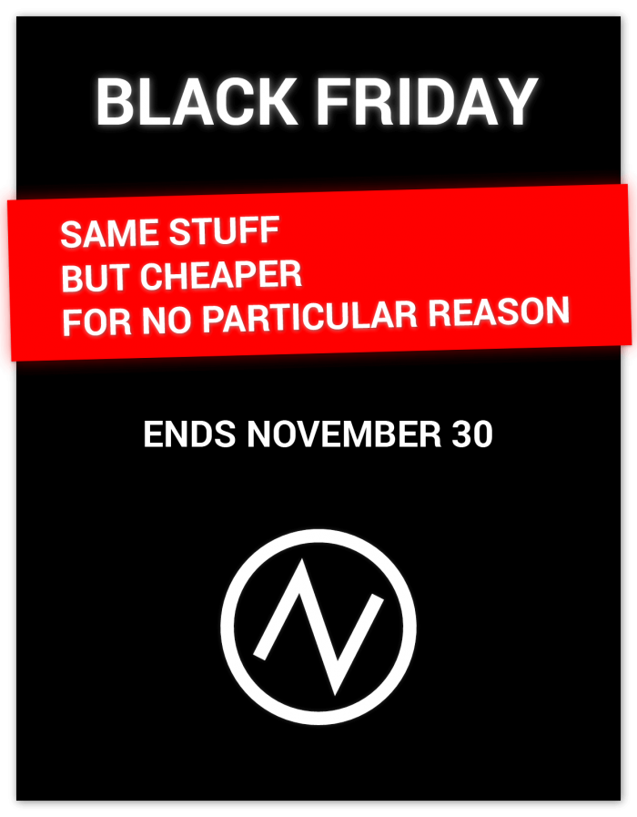 New Sonic Arts Black Friday 2018