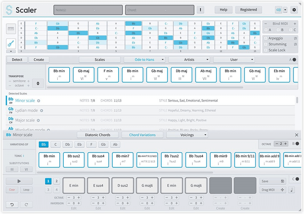 Plugin Boutique updates Scaler MIDI chord composer plugin to