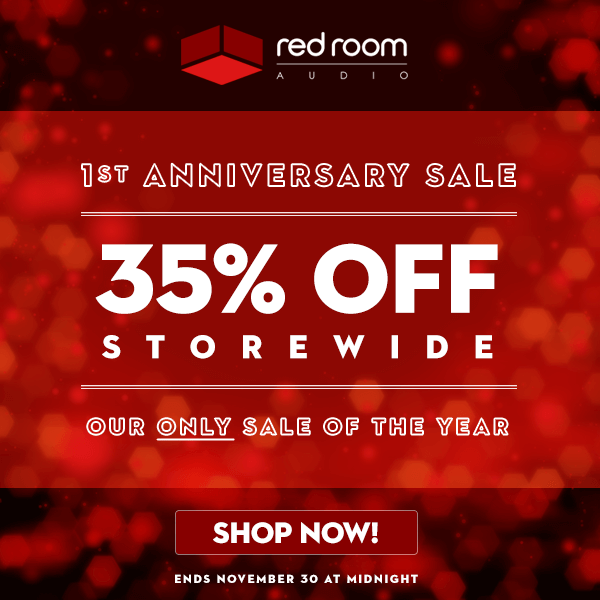b2c2d258cc0 Red Room Audio offers 35% off virtual instruments in 1st Anniversary Sale