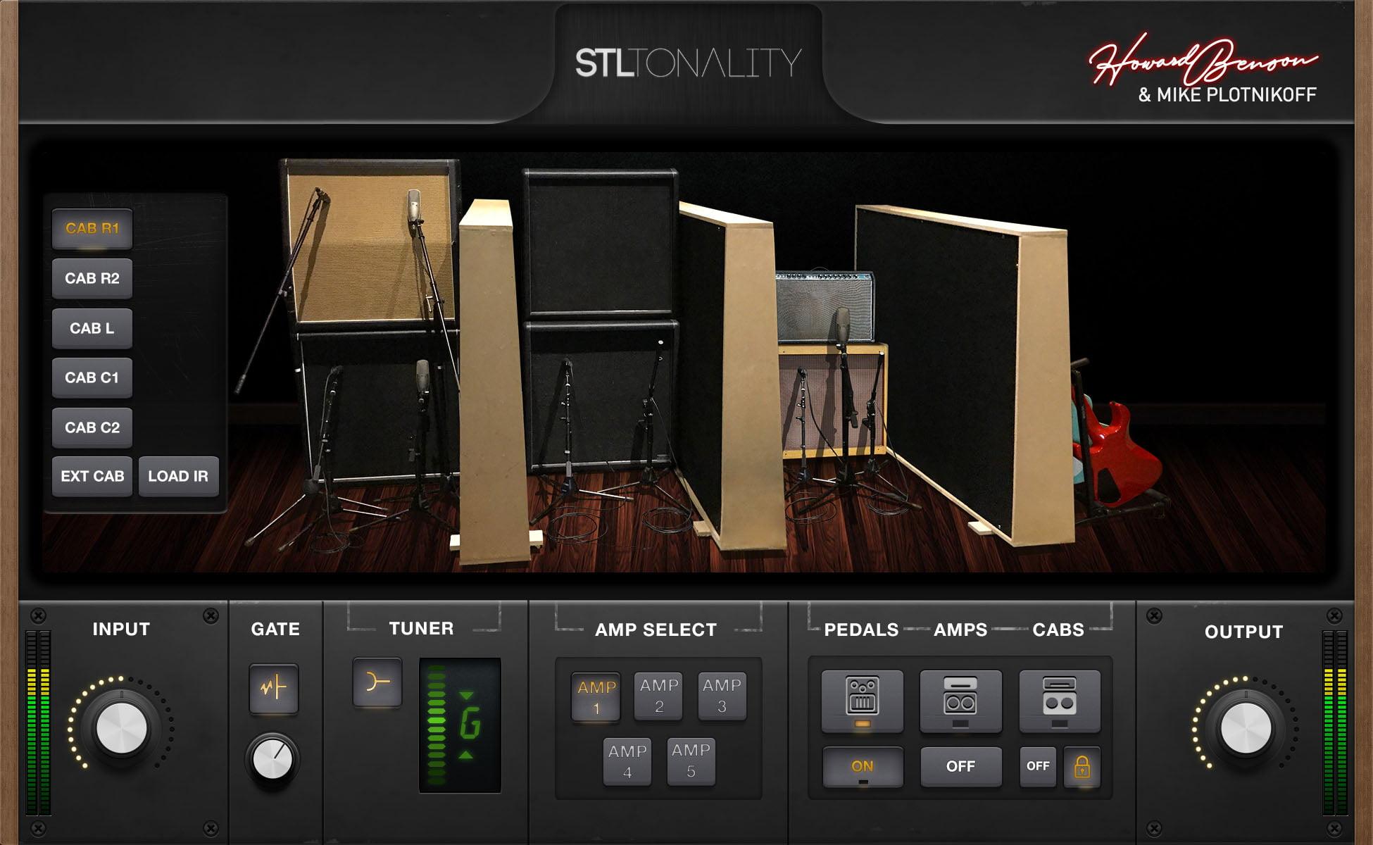 STL Tones launches Tonality Howard Benson guitar plugin suite
