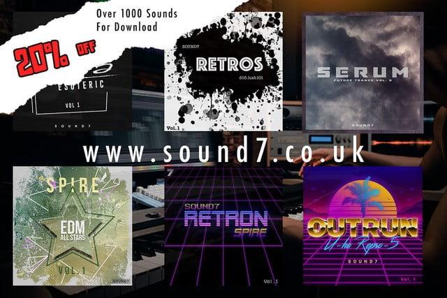 Sound7 Black Cyber