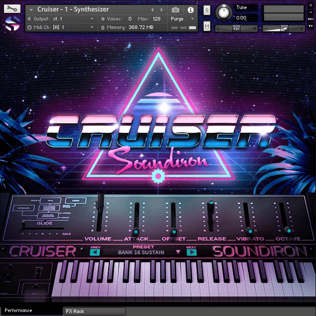 Soundiron launches Cruiser 80s synth instrument + Up to 40% off