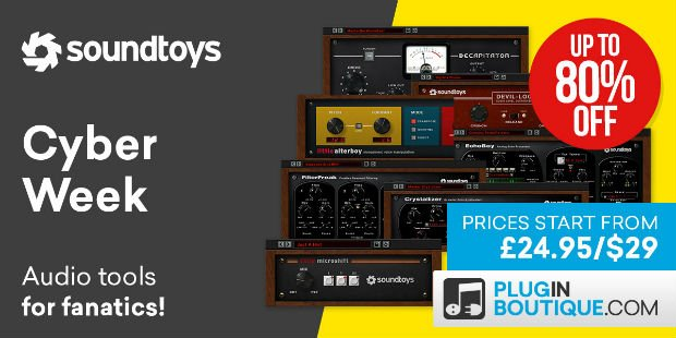 Soundtoys Cyber Week