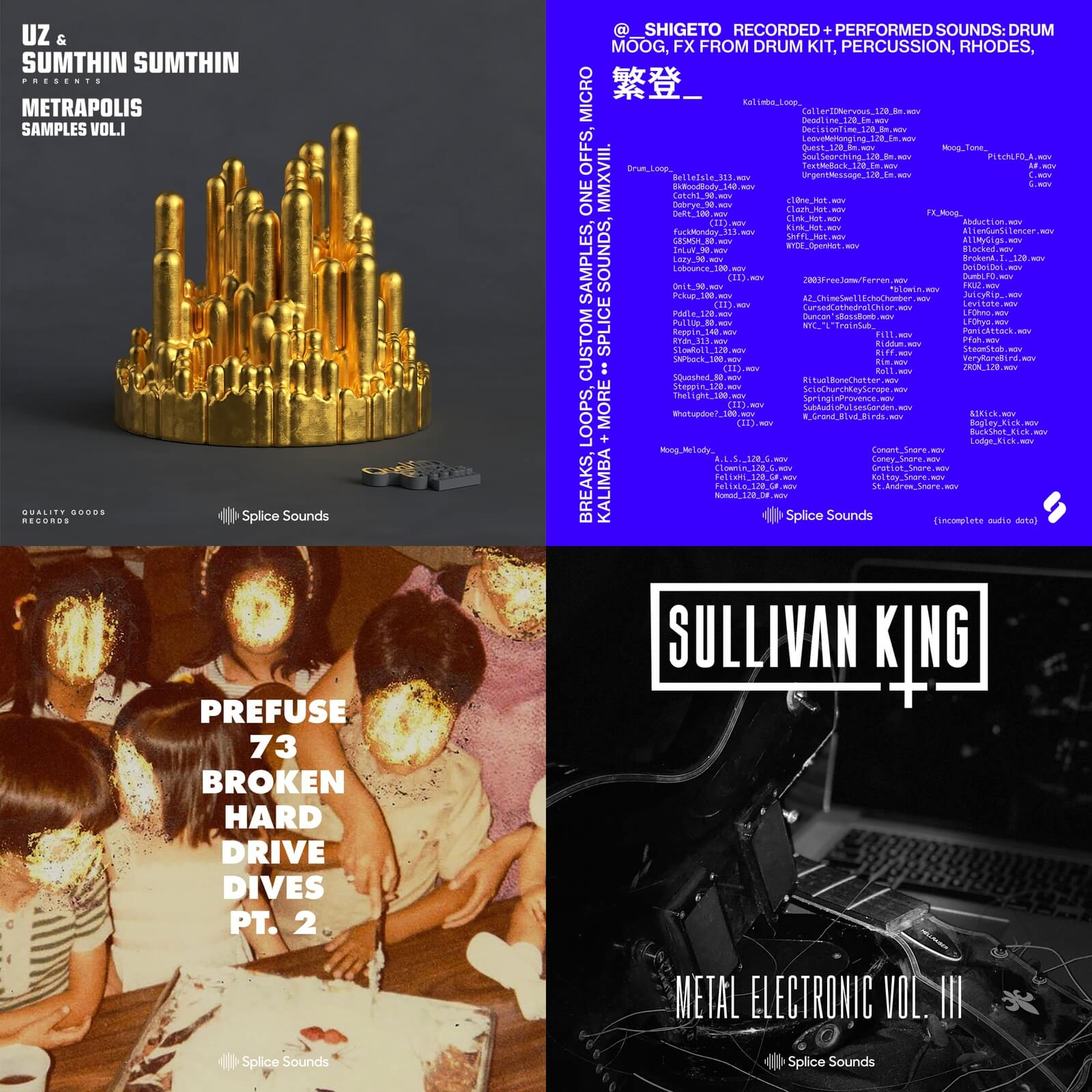 New sounds from UZ & Sumthin Sumthin, Shigeto, Prefuse 73 and