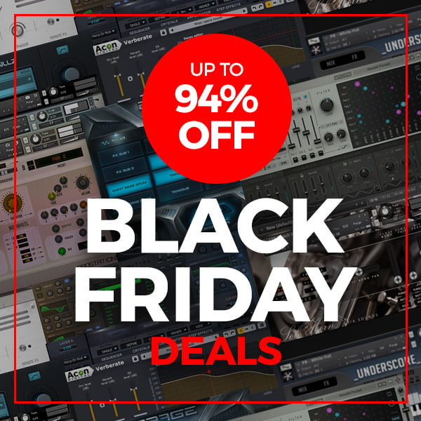 VST Buzz launches Black Friday Deals with up to 94% off plugins