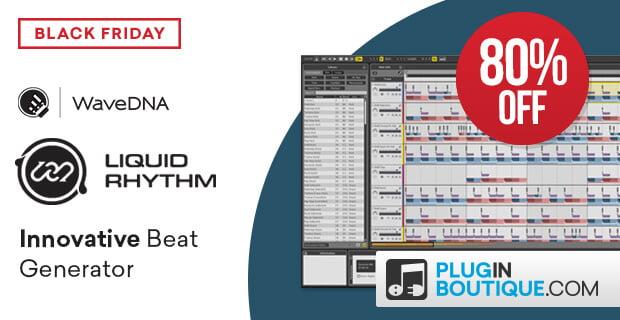 WaveDNA's Liquid Rhythm beat generator on sale at 80% OFF