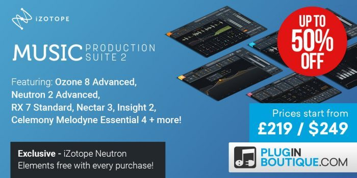 iZotope launches Nectar 3, Music Production Suite 2 & Vocal