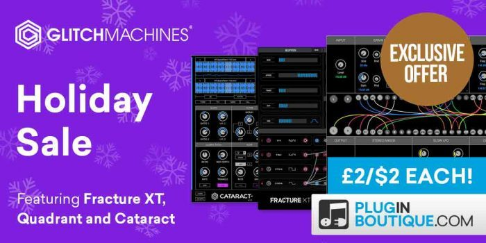 Glitchmachines Holiday Sale 2 USD