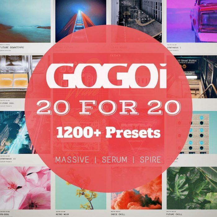 Gogoi 20 for 20 preset packs